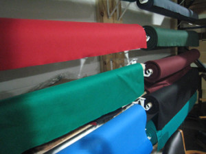 Merced pool table recovering table cloth colors