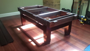Correctly performing pool table installations, Merced California